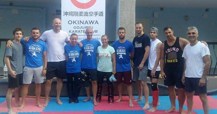 karate odessza edzőtábor 2018